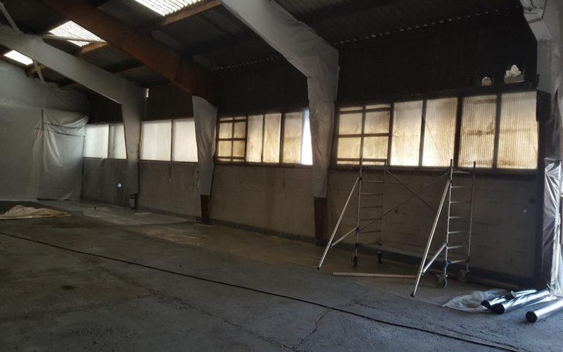 chantier désamiantage var réalisé par GMC Construction